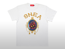 "SNEA T-SHIRTS / HATAKE ""Chronic""(WHITE)"