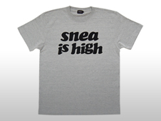 SNEA T-SHIRTS / is high(GRAY)