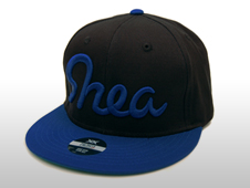 SNEA SNAP BACK CAP / OVL(BLACK × BLUE)